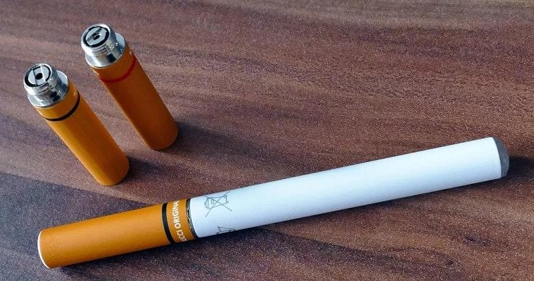 sigaretta elettronica senza liquido o con liquido