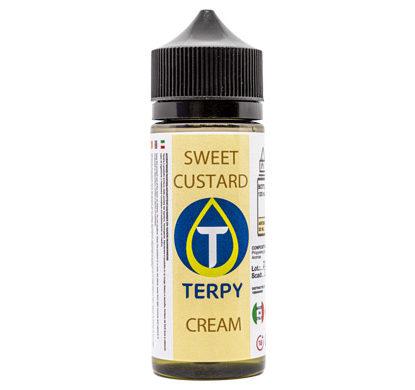 Liquidi Cremosi bottiglietta da 120 ml di liquidi sigaretta elettronica Sweet Custard