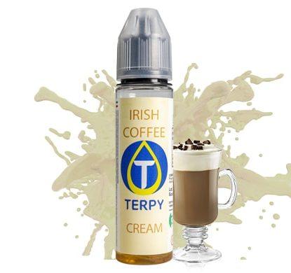 Flacone con liquido svapo al gusto cremoso di Irish Coffeé