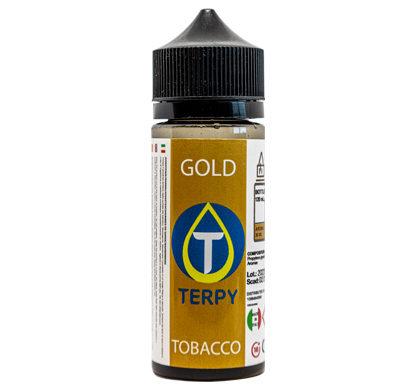 Liquidi Tabaccosi bottiglietta da 120 ml di liquidi sigaretta elettronica Gold