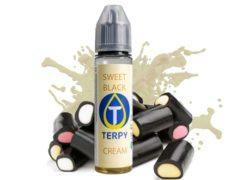 Flacone di liquido svapo per sigaretta elettronica dal sapore black