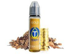 Flacone di liquido svapo per sigaretta elettronica al sapore di tabacco Gold
