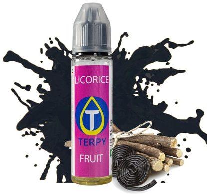 Flacone di liquido da svapare per sigaretta elettronica al sapore di Liquirizia