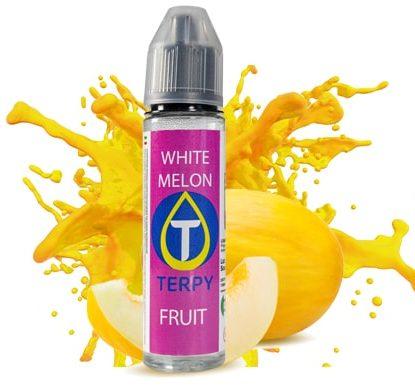 Boccetta di liquido svapo alla frutta gusto white melon