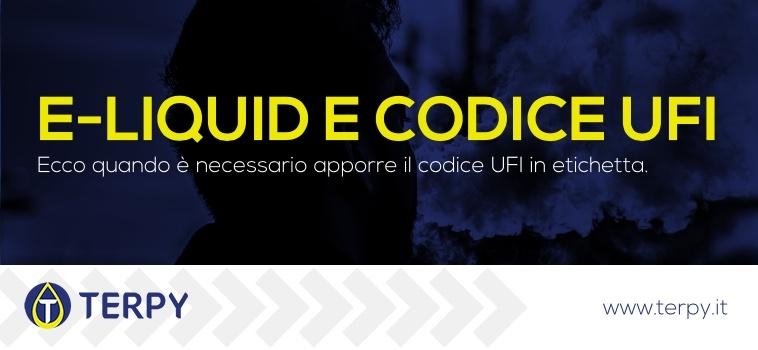 codice ufi e liquidi sigaretta elettronica