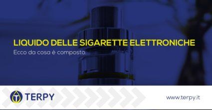 Da cosa è composto il liquido delle sigarette elettroniche