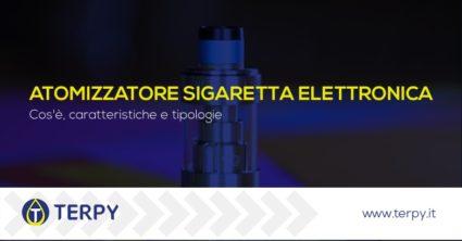 atomizzatore sigaretta elettronica tipologie
