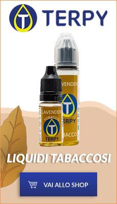 Banner Terpy Liquidi per sigaretta elettronica tabaccosi