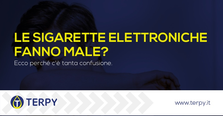le sigarette elettroniche fanno male
