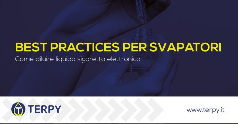 Come diluire liquido sigaretta elettronica
