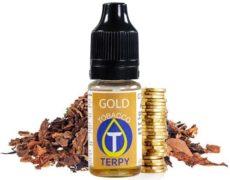 Flacone di aroma per svapo per sigaretta elettronica al sapore di tabacco Gold