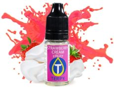 Aroma strawberry cream per sigaretta elettronica al gusto fragola