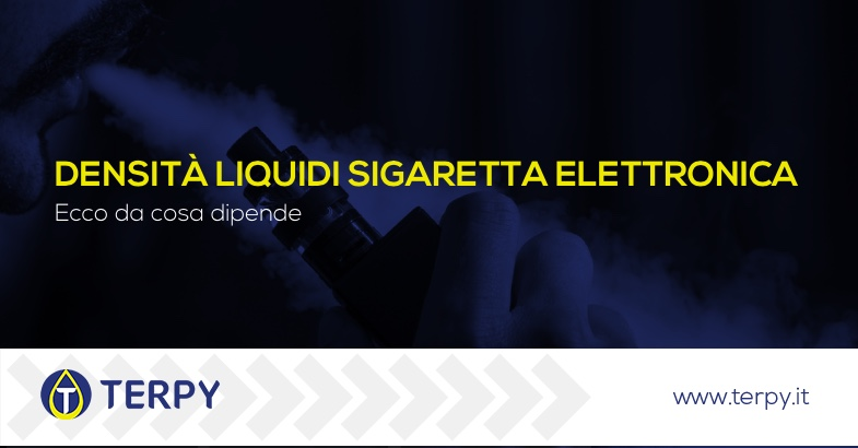 Densità liquidi Sigaretta elettronica