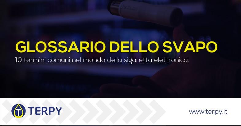Termini comuni sigaretta elettronica
