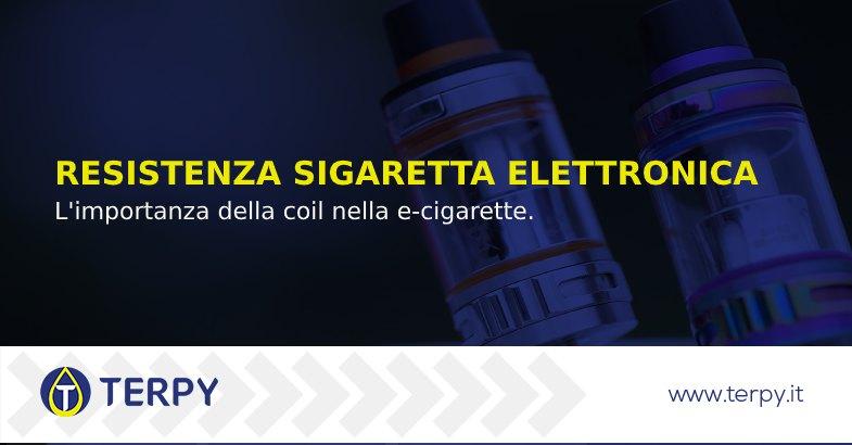 importanza della resistenza nella sigaretta elettronica