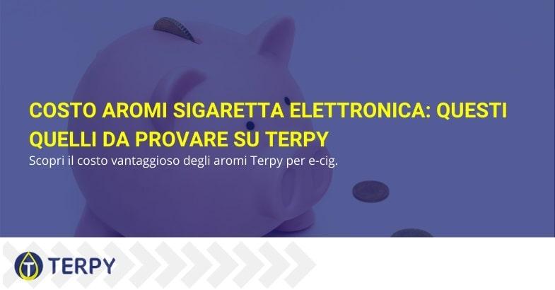 Ecco gli aromi di Terpy da provare per e-cig