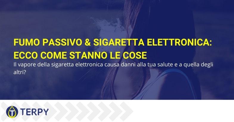 Fumo passivo e sigaretta elettronica: ecco come stanno le cose