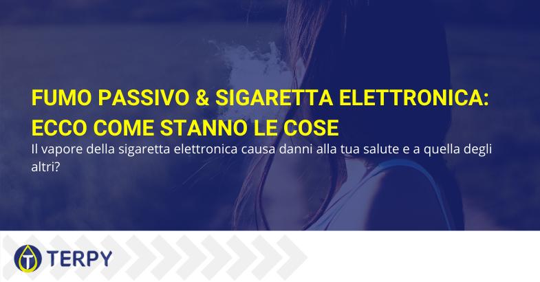 fumo passivo sigaretta elettronica