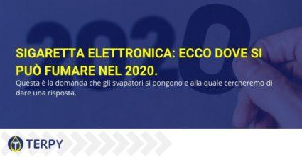 Sigaretta elettronica: ecco dove si può fumare nel 2020.