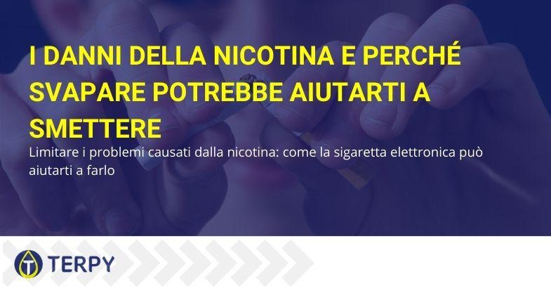 I danni della nicotina e perché svapare potrebbe aiutarti a smettere