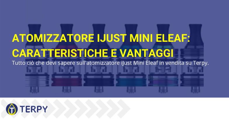 atomizzatore iJust Mini Eleaf caratteristiche