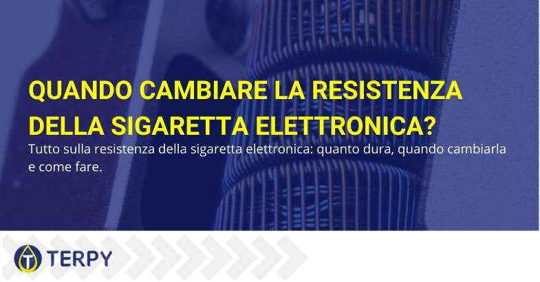 come cambiare resistenza sigaretta elettronica