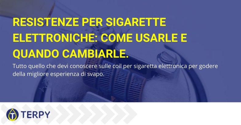 resistenze per sigarette elettroniche
