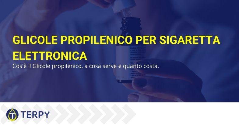 Glicole propilenico per sigaretta elettronica
