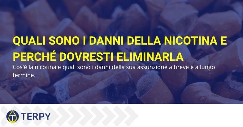 Quali sono i danni della nicotina
