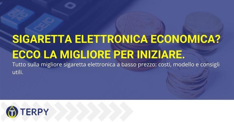 Sigaretta elettronica economica
