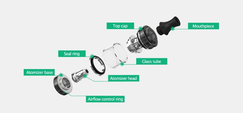 componenti e funzionamento atomizzatore sigaretta elettronica