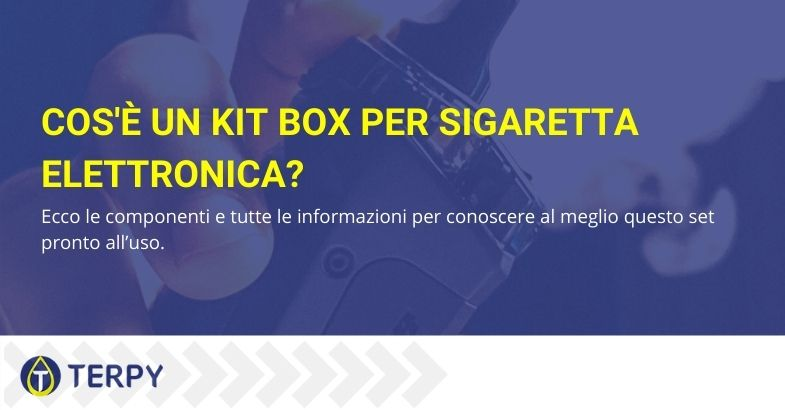 caratteristiche kit box sigaretta elettronica