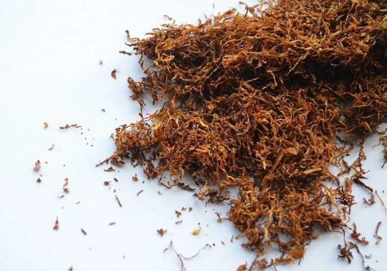 Liquido sigaretta elettronica al gusto tabacco per smettere di fumare.