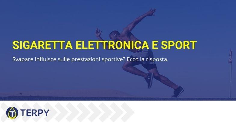 sigaretta elettronica e sport