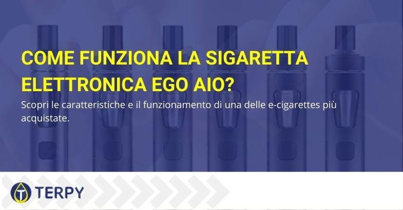 Come funziona la sigaretta elettronica eGo AIO