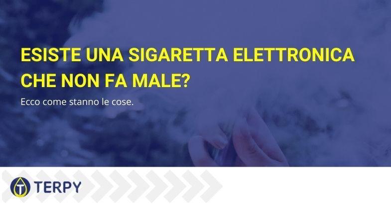 sigaretta elettronica che non fa male