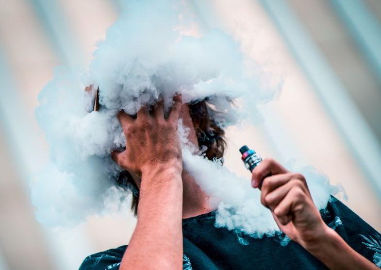 sigaretta elettronica per svapo di polmone