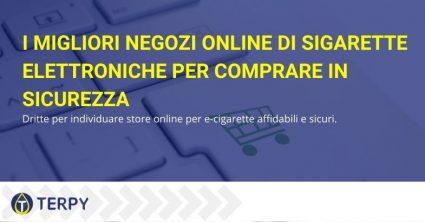 migliori negozi online di sigarette elettroniche